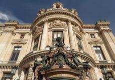 音乐和大歌剧的国立学院的大厦在巴黎 免版税库存图片
