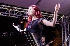 音乐和诗歌节日 免版税库存图片
