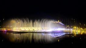 音乐喷泉,唱歌喷泉 股票视频
