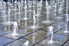 音乐喷泉 图库摄影
