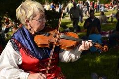 音乐在瑞典 免版税图库摄影