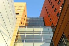 音乐学院和公寓 免版税库存图片