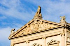 音乐学院日内瓦,瑞士  图库摄影