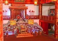 音乐室在皇帝宫殿 库存照片
