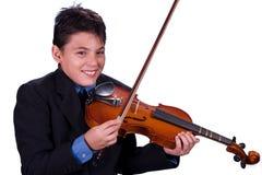 音乐家年轻人 库存照片