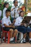 音乐家执行泰国 库存照片