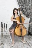 年轻音乐家 库存照片