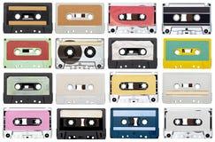 音乐录音磁带葡萄酒 免版税库存图片