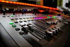 音乐搅拌器演播室 库存图片
