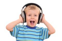 音乐放松 免版税库存图片