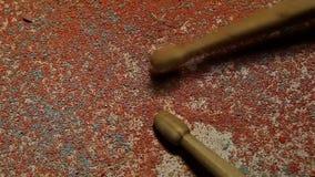 音乐木两鼓槌hd英尺长度 影视素材