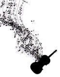 音乐注意横幅 库存图片
