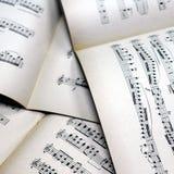 音乐注意背景 免版税图库摄影