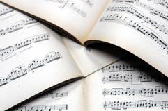 音乐注意背景 库存照片
