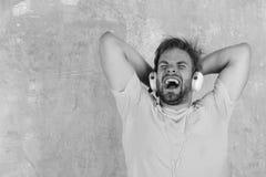 音乐生活方式 欧洲人有乐趣时间 免版税库存照片