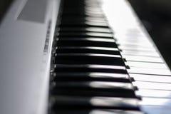 音乐电钢琴 库存图片