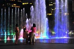 音乐的喷泉 库存图片