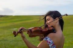音乐的声音 免版税库存照片
