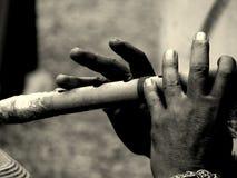 音乐的手指 库存图片