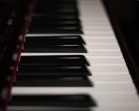 音乐的钥匙 免版税库存图片