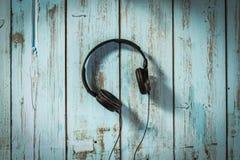 音乐耳机 免版税库存图片
