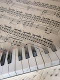 音乐背景。 免版税库存照片