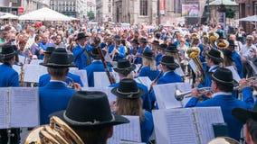 音乐节在维也纳,奥地利 库存图片