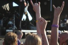 音乐节 库存图片