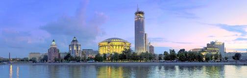 音乐莫斯科国际议院  图库摄影