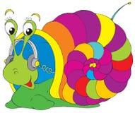 音乐蜗牛 库存照片
