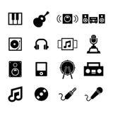 音乐象 向量例证