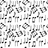 音乐重复 库存例证
