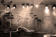 音乐阶段 免版税图库摄影
