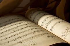 音乐附注 免版税库存图片