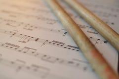 音乐 免版税库存照片