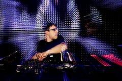 音乐DJ 图库摄影