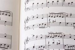 音乐P01页  免版税库存图片