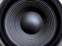 音响低音报告人 免版税库存照片