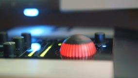 音响器材图表调平器  光表明在声卡的容量水平 影视素材