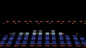 音响图象调平器色谱分析器 EQ 股票视频
