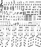音符 免版税图库摄影