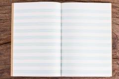 音符的空的线书 库存照片