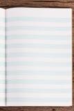 音符的空的线书 图库摄影