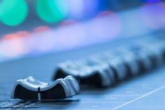 音量控制器 图库摄影