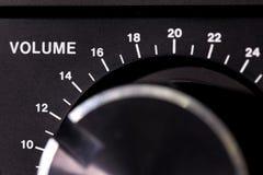 音量控制 免版税库存图片