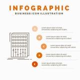 音频、控制、混合、搅拌器、演播室Infographics模板网站的和介绍 r 向量例证