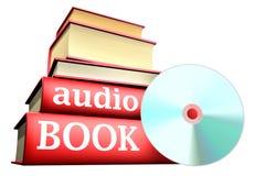 音频书登记教育 免版税库存图片