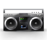 音频例证现代可实现的系统 库存照片