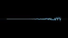 音频光谱 库存例证