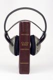 音频圣经 免版税库存照片